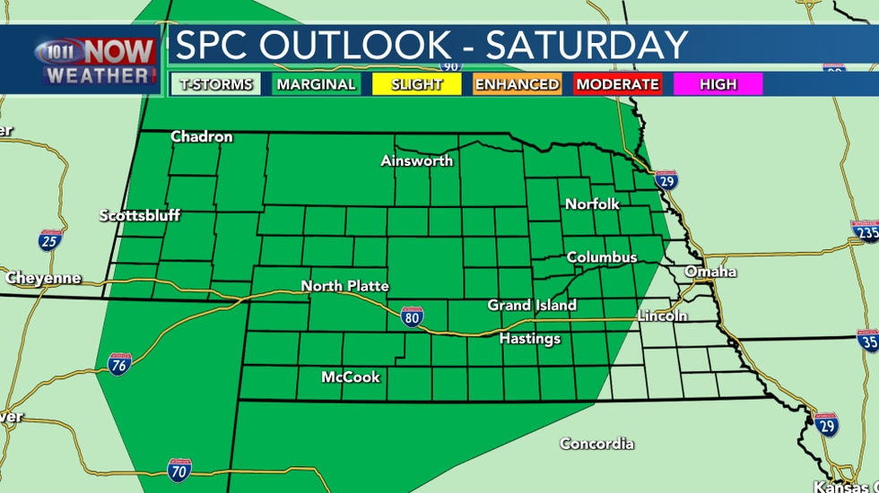 Severe Outlook Saturday
