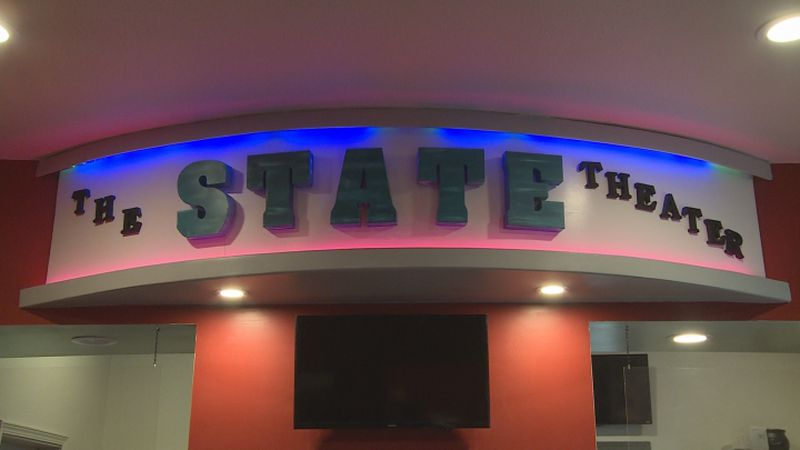 The State Theater in Central City is an inviting place to take in a movie.  Improvements...