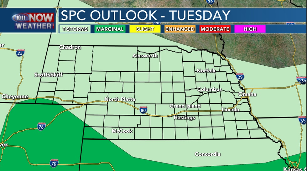 Severe Outlook Tuesday