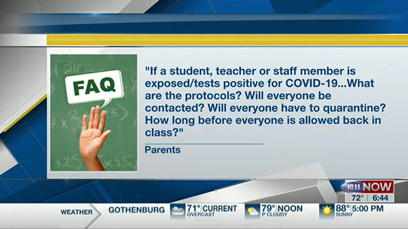 We know families have many questions about going back to school during the coronavirus...