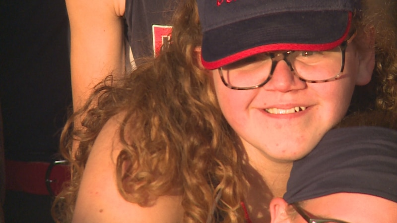 Kadence's Moment: Middle Schooler hits grand slam during first game