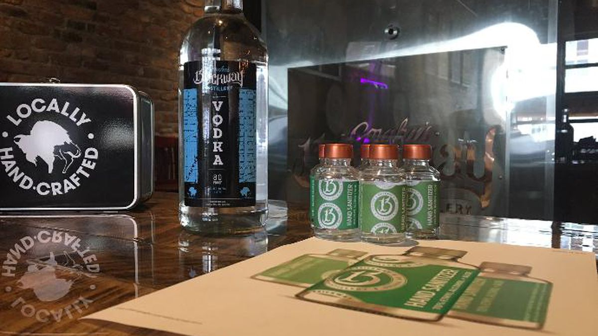 Brickway Brewery & Distillery in Omaha has plans to make hand sanitizer to help with supply during the coronavirus pandemic. (Source: WOWT)