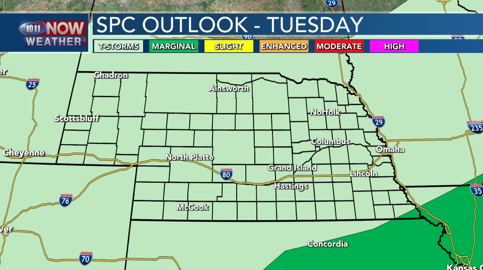 SPC Outlook Day 3