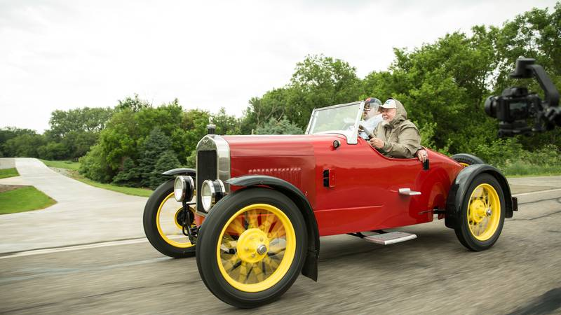 Approximately 30 vintage vehicles will participate in the Hill Climb event which is designed to...