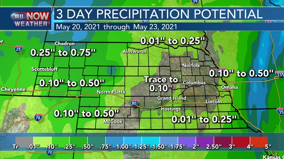 """Not Quite As """"Rainy"""" This Weekend..."""