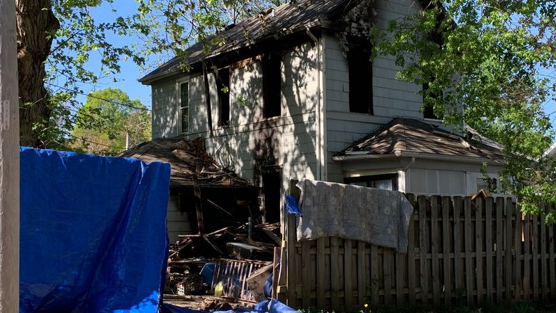 Lincoln Fire and Rescue responded to a two-alarm house fire near 31st and Q Streets Saturday...
