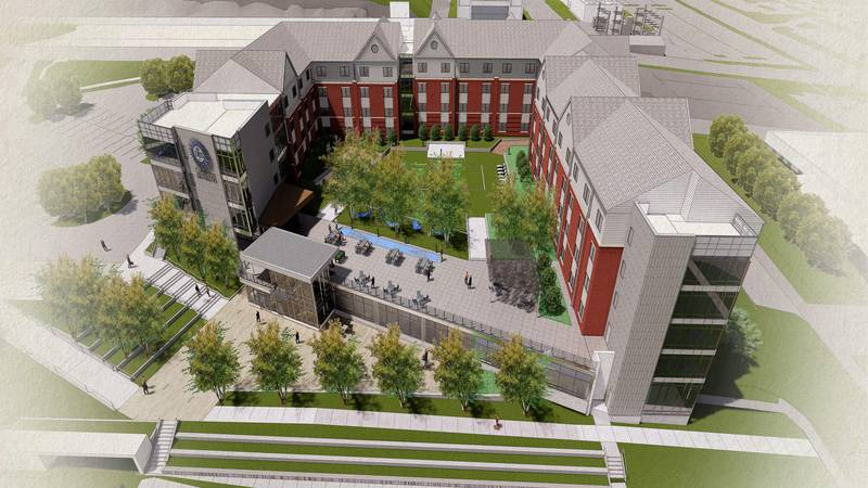 Creighton University is about to give future first-year students a brand-new, fully modern...