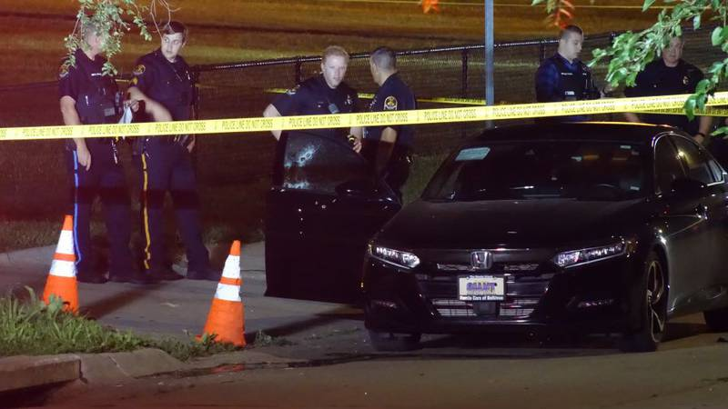 Two people were transported from the scene of a shooting near an elementary school early...