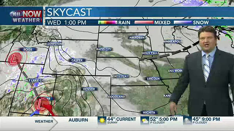 Brad's Wednesday Afternoon Forecast