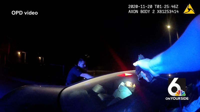 Omaha Police on Friday, April 23, 2021, released bodycam footage from a fatal shooting in...