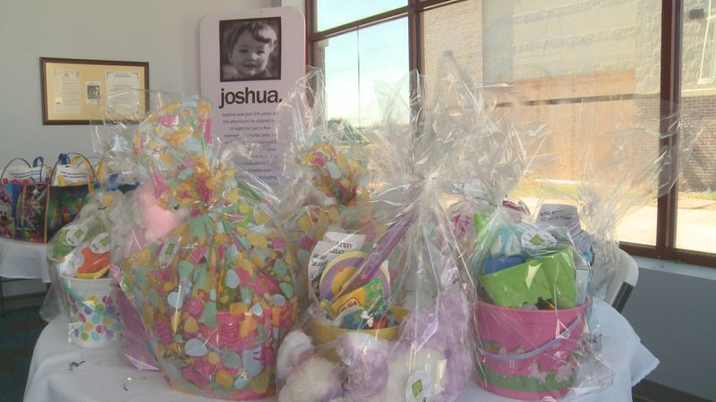 More than 100 children are getting some surprise Easter cheer, all thanks to three non-profits...