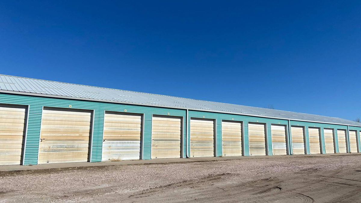 Jerry's Self Storage unit in Scottsbluff where the bodies of Maci Baily and Beau Gealy were...
