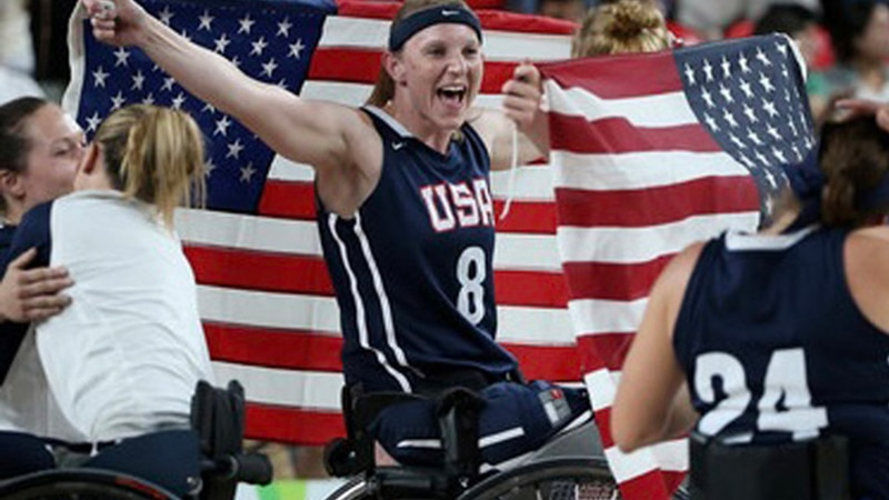 It's Natalie Schneider's fourth time competing at the Paralympics, and she said it's just as...