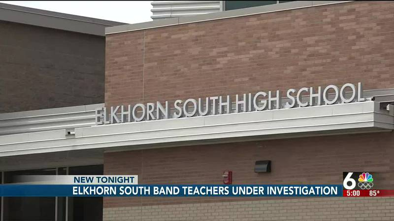 Elkhorn South High School band teachers are on administrative leave as the Douglas County...