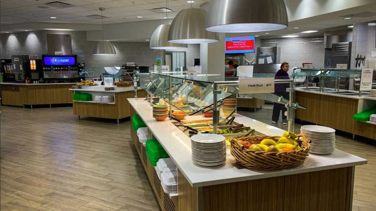 For months, UNL's East Campus dining staff was relocated to City Campus while the new dining...