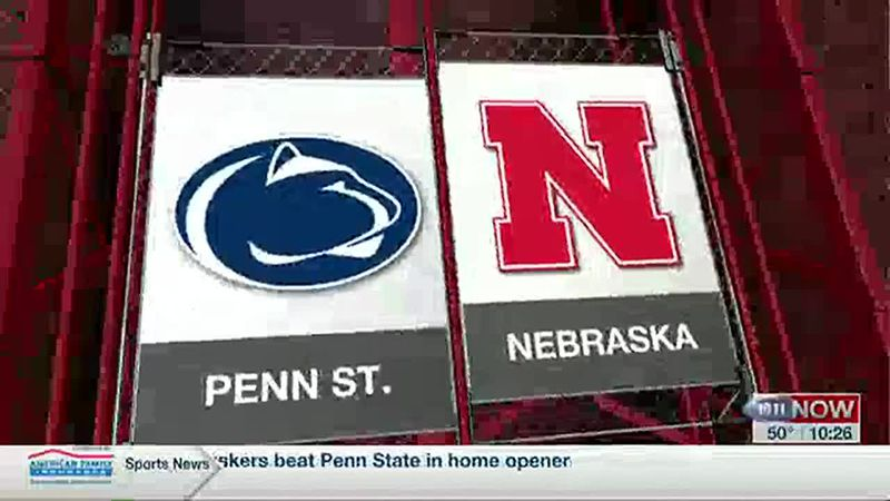 Huskers top Penn State at Bowlin Stadium
