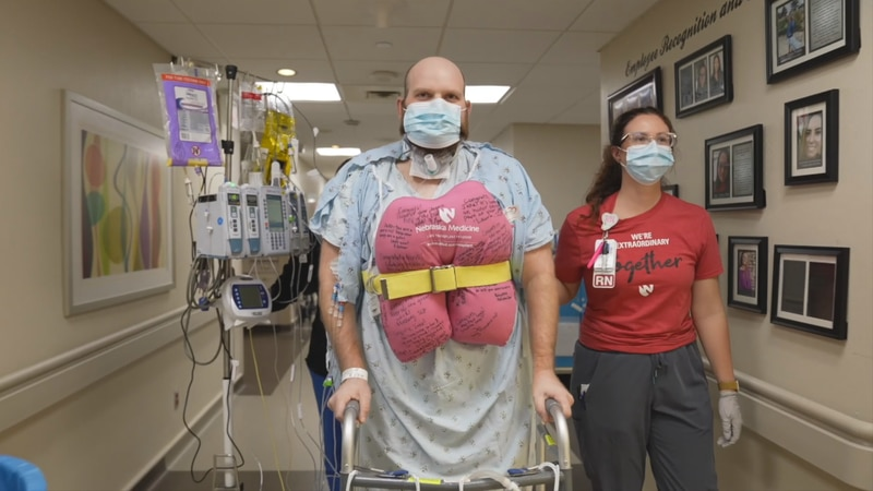At 31-years-old, Jake Immink became the first Nebraskan to receive a double lung transplant as...