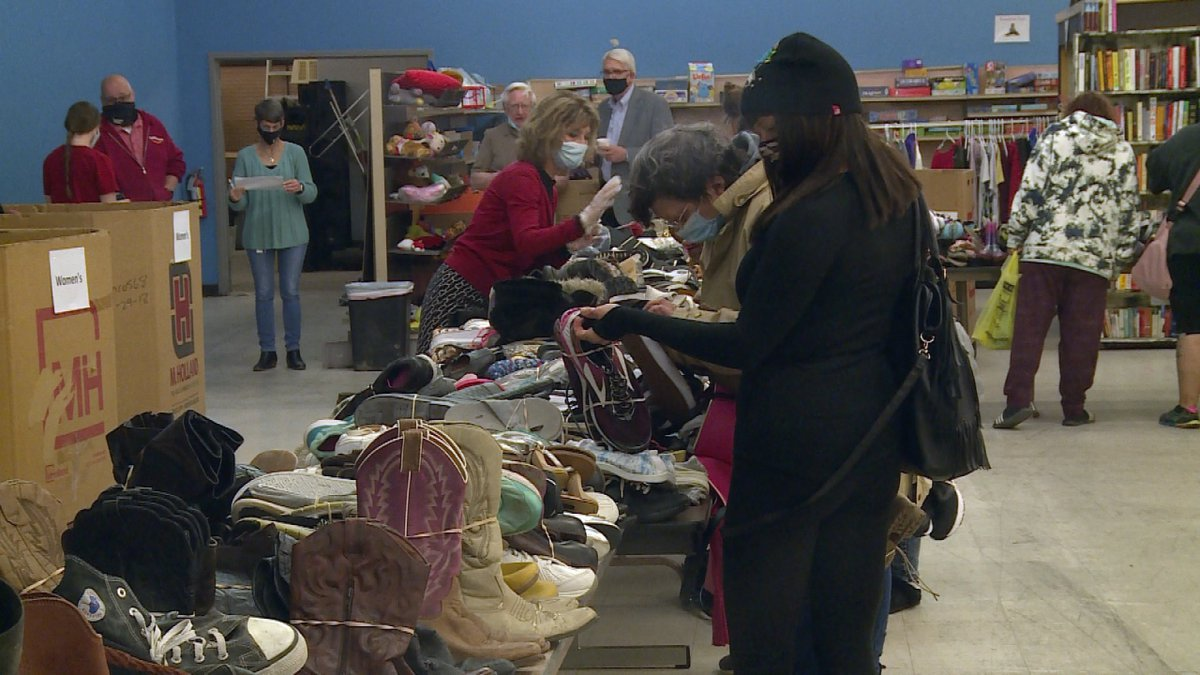 The People's City Mission and Cornhusker Bank gathered at the Help Center on Friday to...