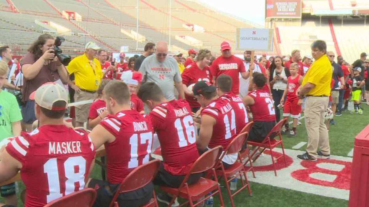 Husker fans are eagerly counting down the days to kick-off. Thursday night people got the chance to meet their favorite players and coaches.
