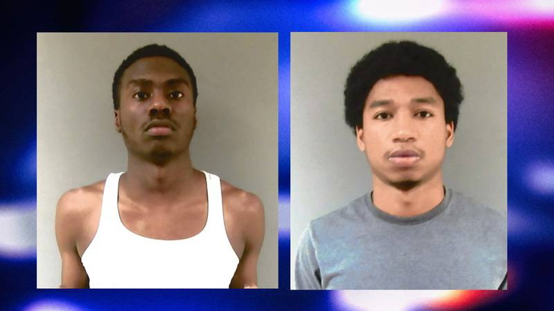 Darius Rice (left) and Alexus Webber were arrested by the Nebraska State Patrol following a...