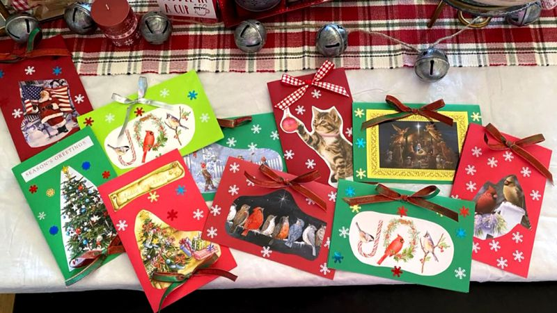 Cards for Seniors sends Christmas cards to thousands across Lincoln.