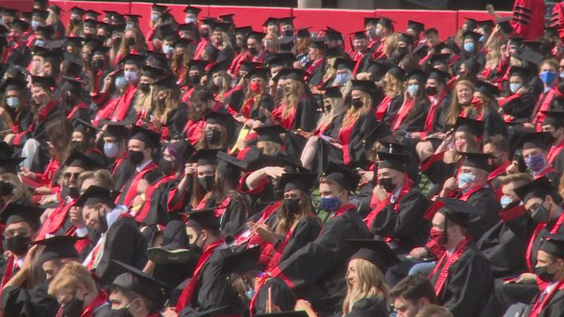 For the first time in the University of Nebraska-Lincoln's History, the commencement ceremony...