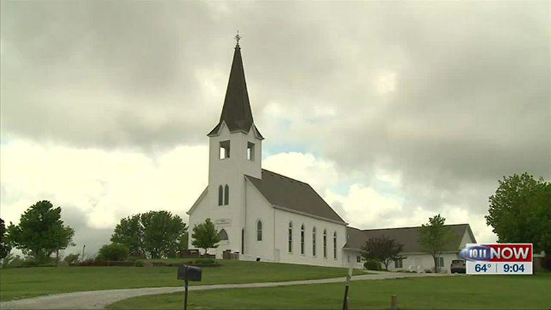 We learn how a church near Elk Creek is marking a major milestone.