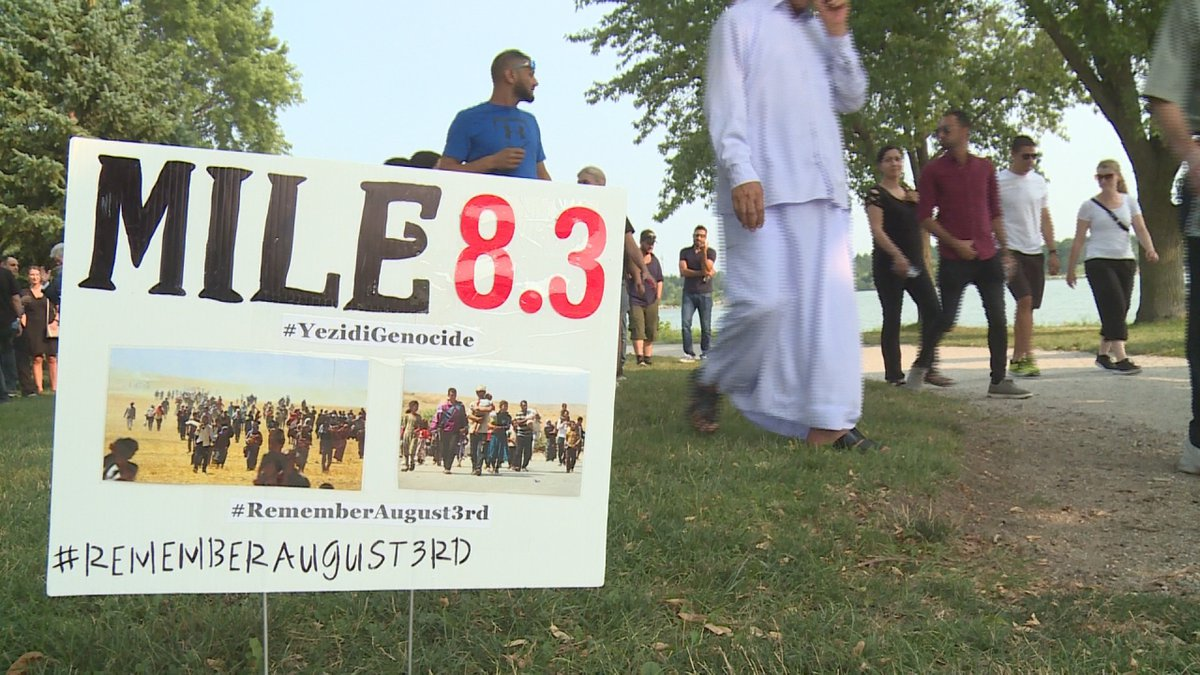 Lincoln Yazidi community remembers 74th genocide