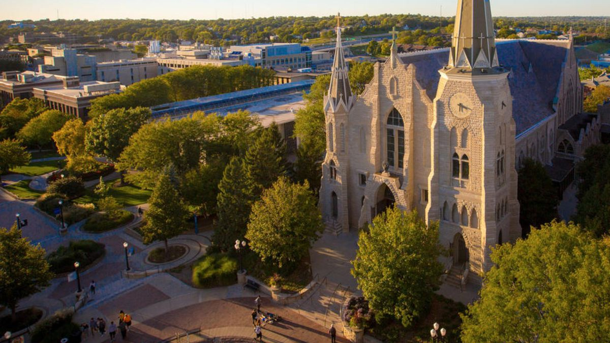 A picture of Creighton University