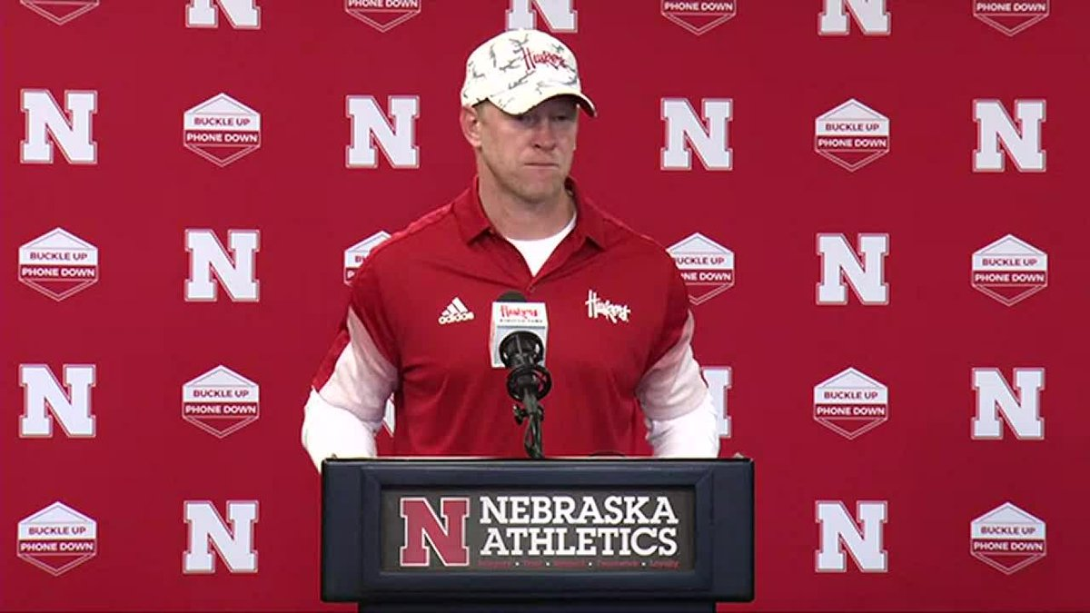 Sept 11 Husker Postgame: Scott Frost says the Huskers are ready for next week