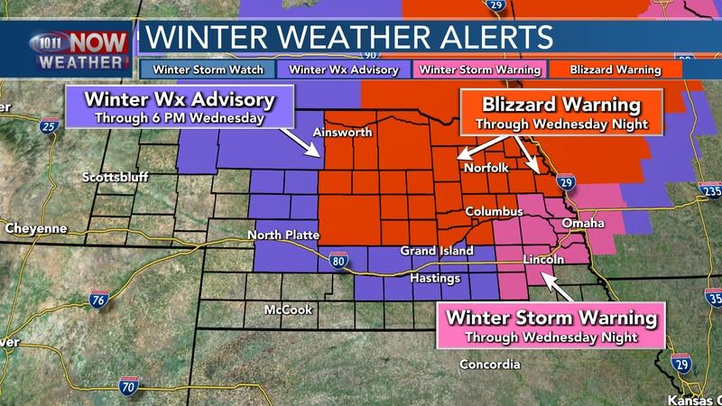 Weather Alerts for December 23, 2020