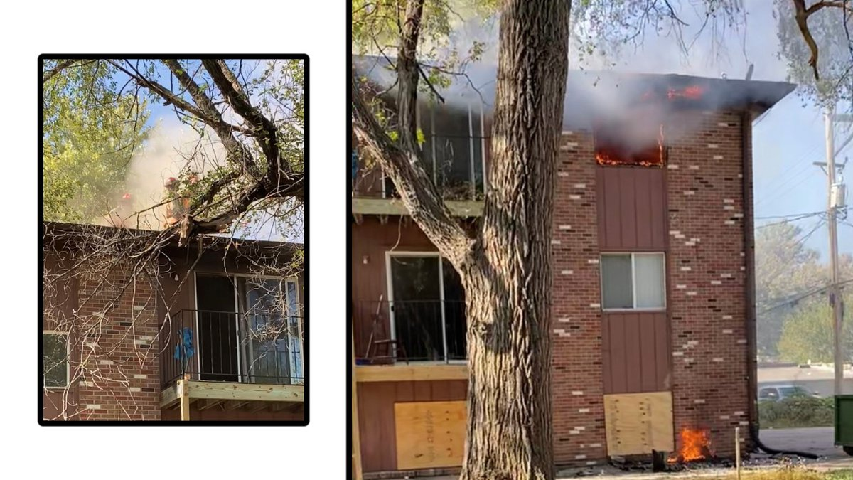 Lincoln Fire and Rescue responded to the fire at 1020 Washington Street Tuesday around 1:10 p.m.