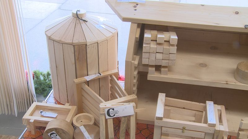 The Country Store gives rural Nebraskans an outlet to sell handmade items for the Christmas...