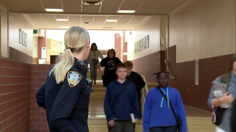The study found 30% of all juvenile justice system cases start with school resource officers.
