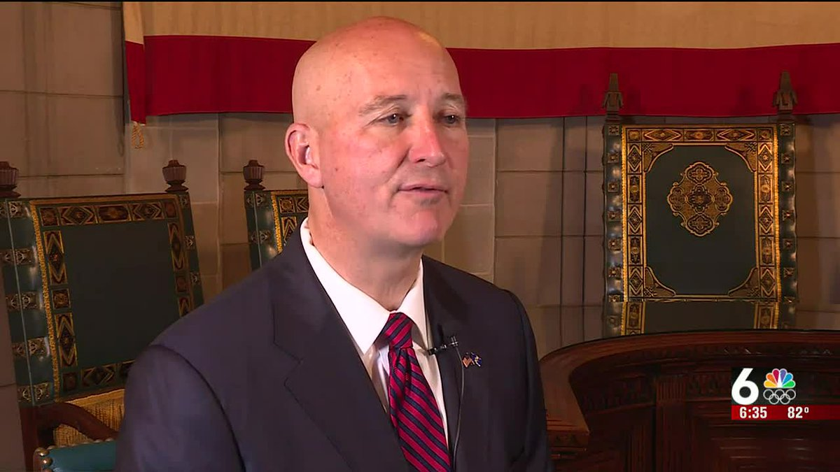 6 News speaks with Gov. Pete Ricketts after the approval of Nebraska's new legislative district...