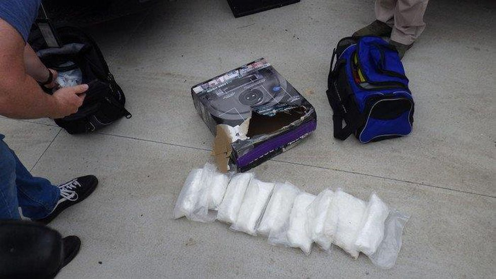 LSO found roughly 9lbs of meth & $17,000 in cash on a man wanted on an NDCS warrant.