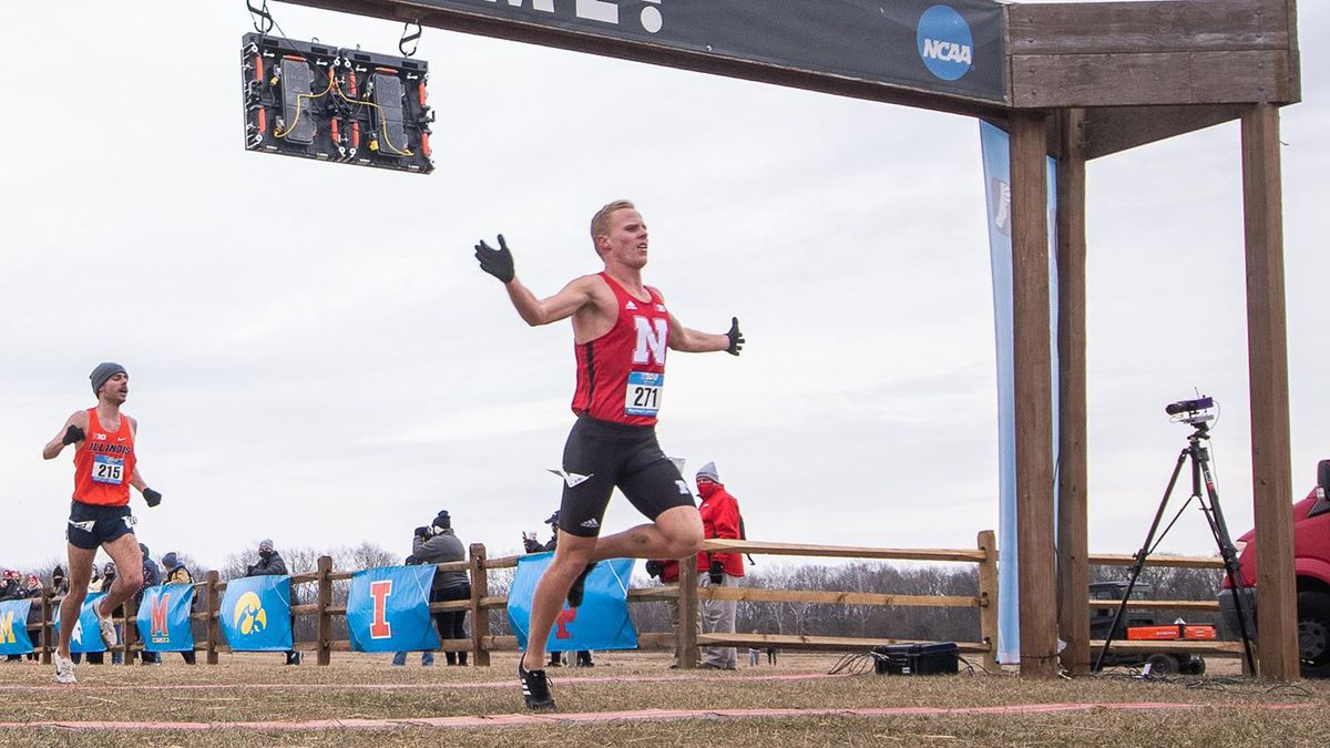 George Kusche became the Husker's first Big Ten cross country champion on Saturday.