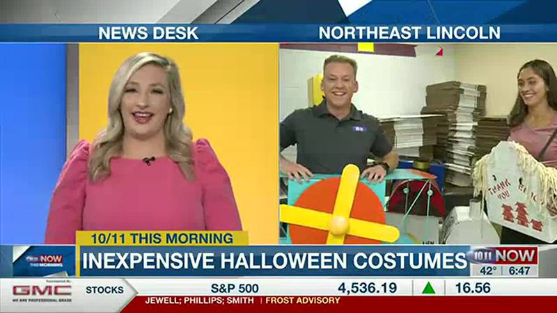 Staff at Two Men and a Truck have creative costume ideas without breaking the bank.