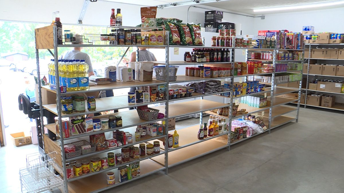After over a year of being closed due to COVID-19, the Eastridge Food Pantry is starting to...