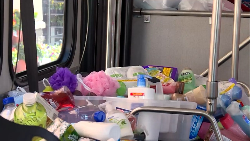 For more than 20 years, The Friendship Home has held a Stuff the Bus fundraiser to gather all...