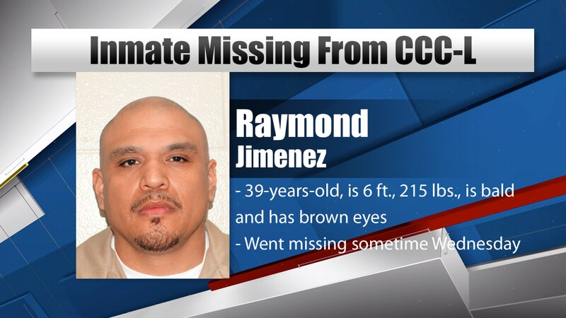NDCS says authorities are searching for 39-year-old inmate Raymond Jimenez.