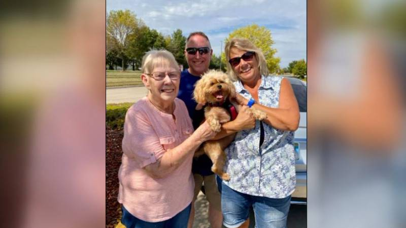Sasha had escaped from the family's RV while stopped at Pine Grove RV Park off of I-80 during a...