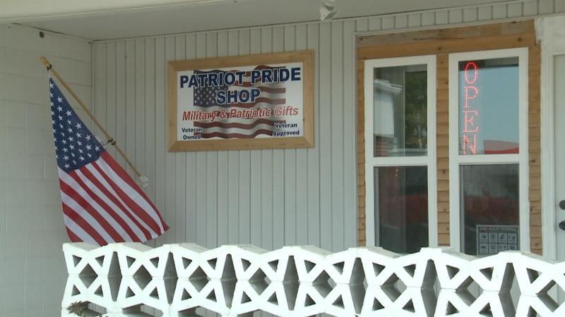 Patriot Pride Shop honors veterans and area heroes.