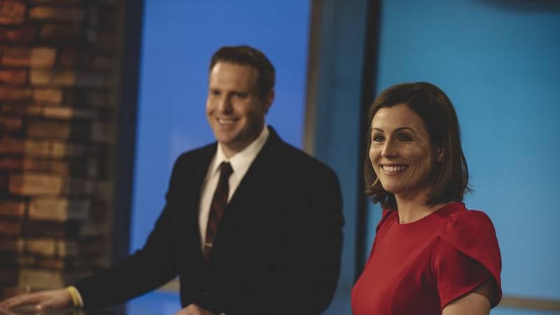 Kelsie Passolt joins Bill Schammert on the 10/11 News anchor desk at 5, 6 and 10 p.m.