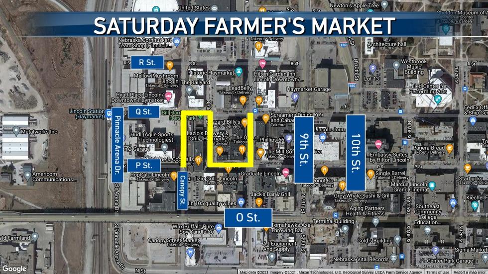 Haymarket Farmer's Market Closures