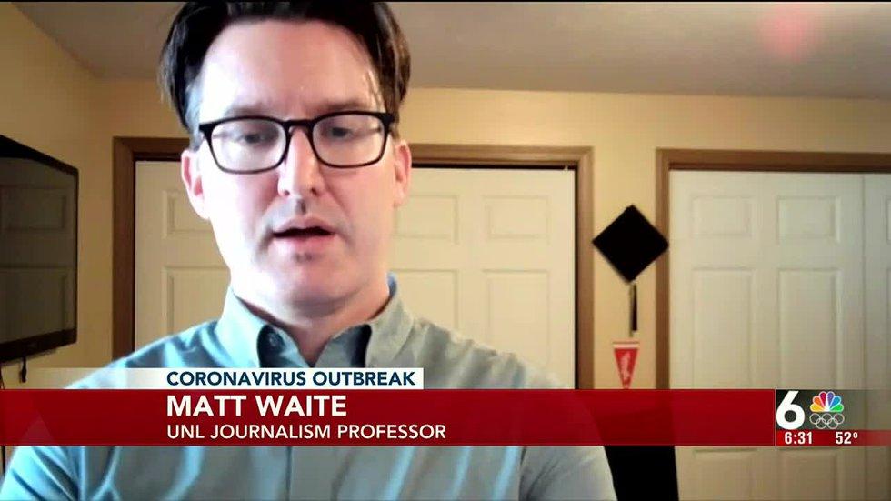 UNL Professor Matt Waite