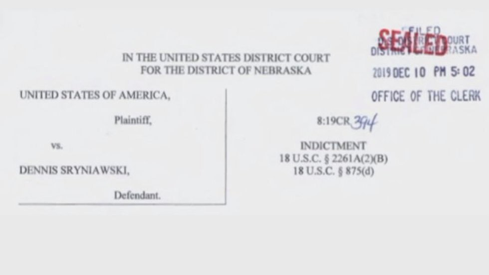 Nebraska man indicted for attempting to derail campaign