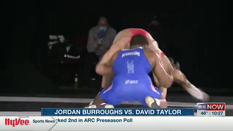 Burroughs fell to David Taylor
