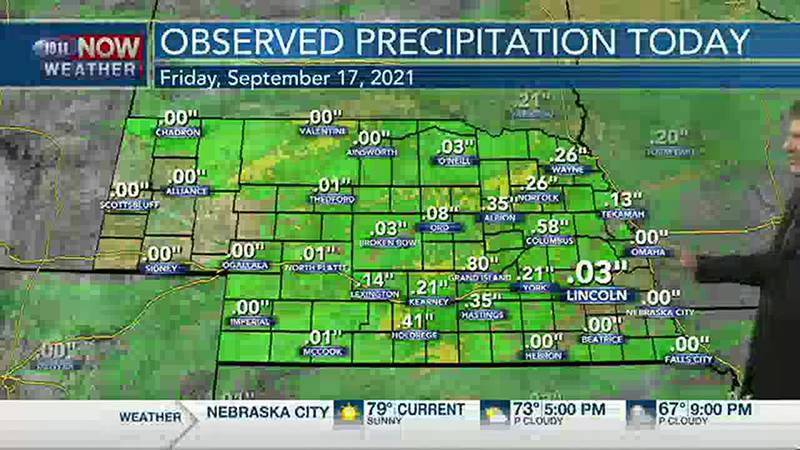 Brad's Friday Afternoon Forecast