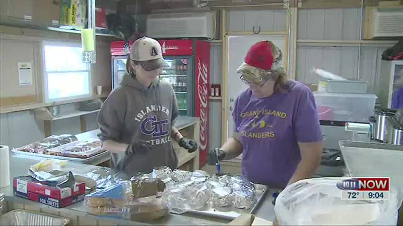 We learn about a food booth at Husker Harvest Days that benefits youth.